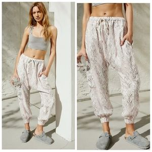 NWOT Free People Rise To The Sun  Harem Pants